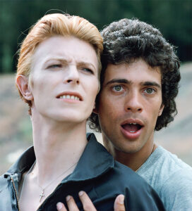 David and Geoff, 1975