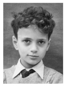 Geoff MacCormack, aged 8