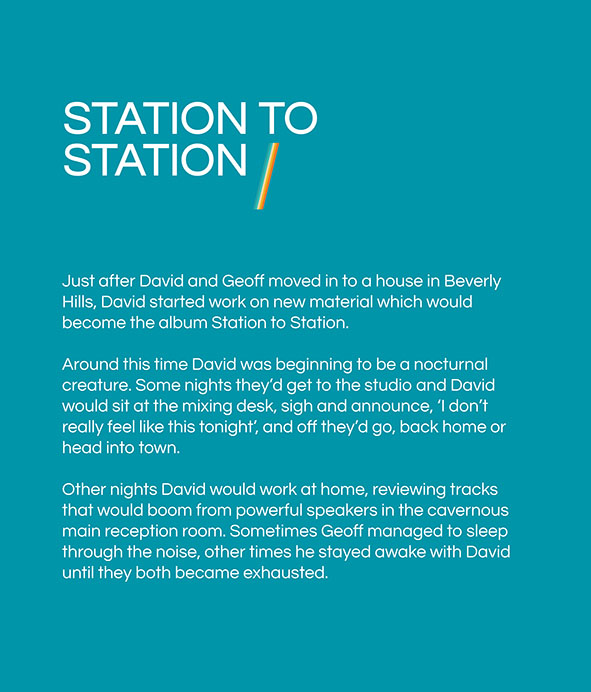 Text panel 7: Station to Station